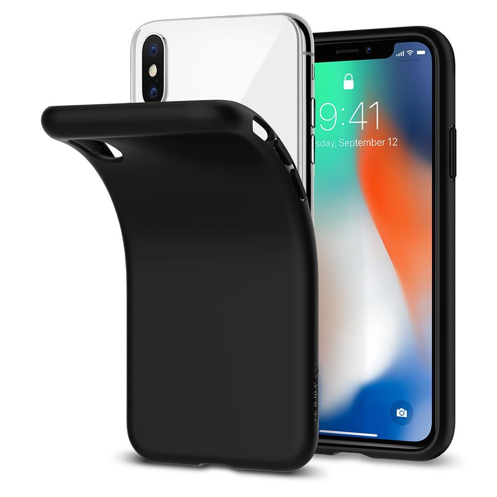 Spigen iPhone XS 5.8 / iPhone X Liquid Crystal Case (Authentic)