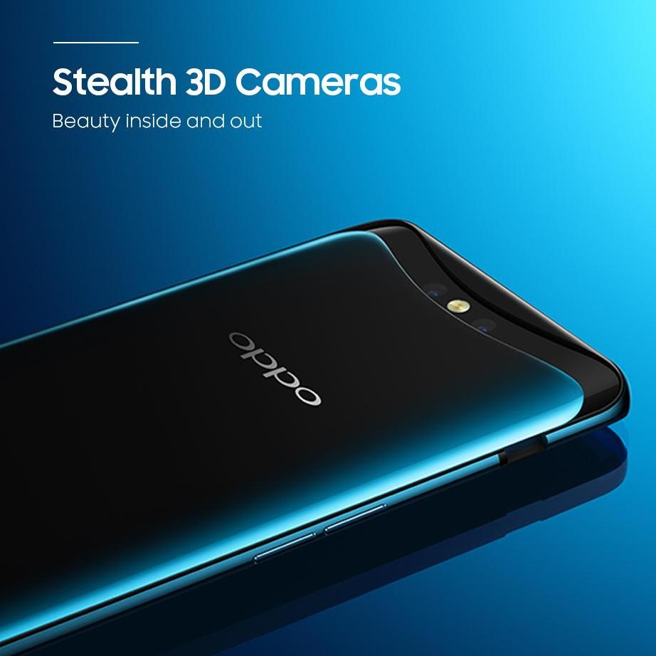 ** NEW RELEASE ** OPPO FIND X – 8G + 128G Bordeaux Red / Glacier Blue [2 Year Local Warranty]