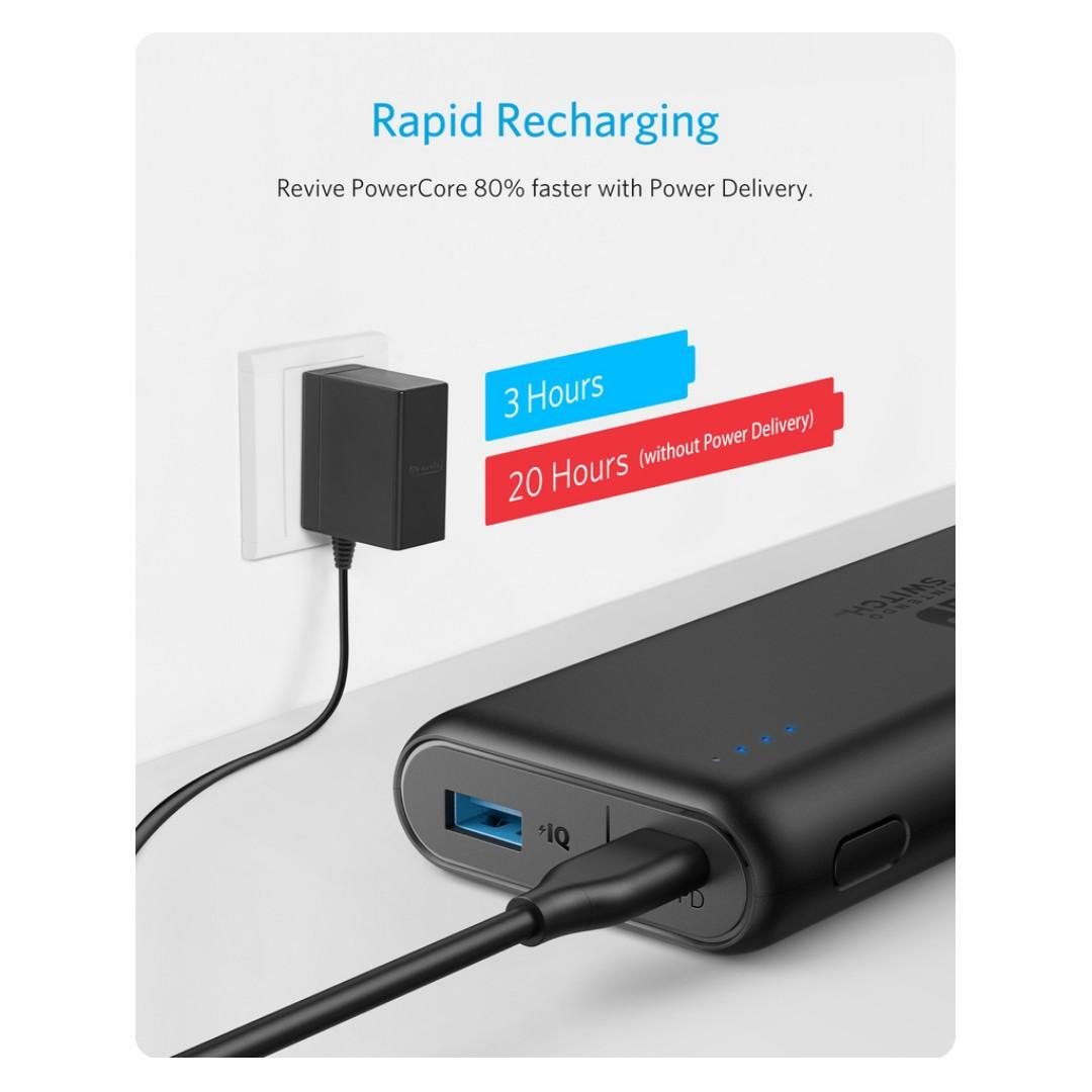 [Power Delivery] Anker PowerCore 20100 Nintendo Switch Edition Powerbank