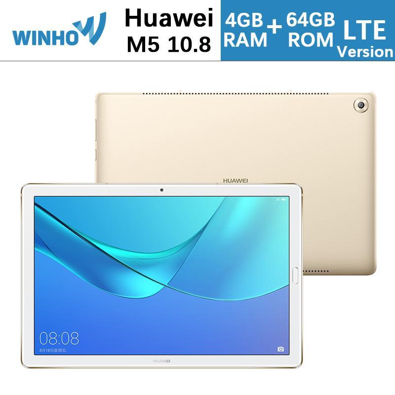 Huawei MediaPad M5 10.8Inch 13MP+8MP 4G+64G LTE Version Original Set