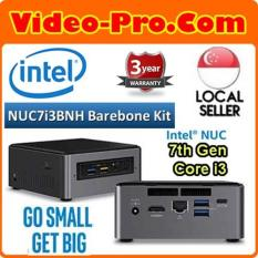 Intel NUC7i3BNH 7th Gen Core i3 Barebone System i3-7100U, M.2 / 2.5inch SATA 6Gb/ s, Micro SDXC Slot , (No RAM, SSD, OS) 3 Years Warranty