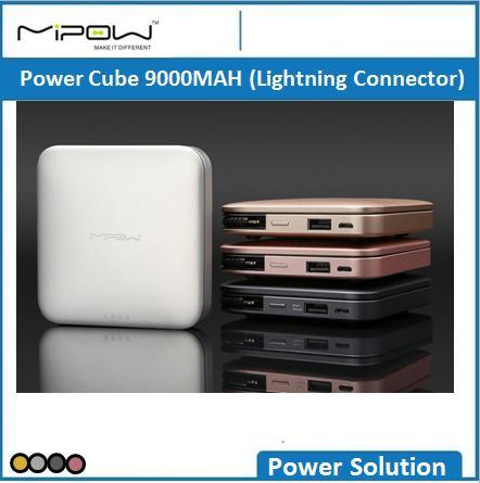 Mipow Power Cube 9000MAH Lightning Connector