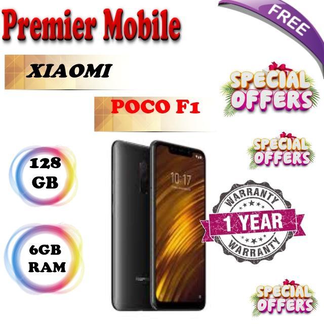 Xiaomi Redmi Pocophone F1 128GB + 6GB 1 Year Xiaomi Warranty