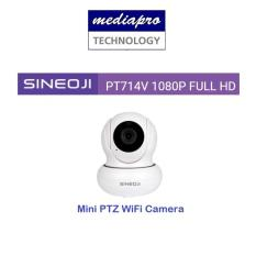 Sineoji PT714V Mini Full HD 1080p WiFi Camera with 2-way Audio