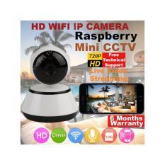 IROYAL RASPBERRY V380-01-Q3 IP CAM WIRELESS HD IP CAMERA WIFI IR NIGHT VISION 2 WAY AUDIO SG STOCK