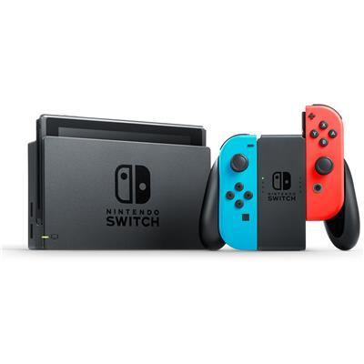 Nintendo Switch Console Neon/Red or Gray/Gray - 1 Year Local Warranty