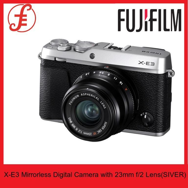 Fujifilm X-E3 Mirrorless Digital Camera with 23mm f/2 Lens