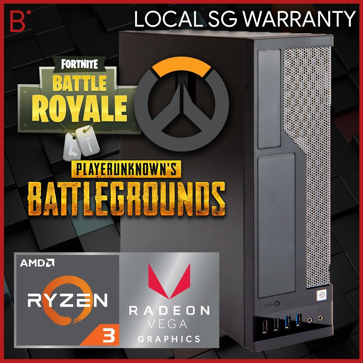 Ryzen 3, Vega Graphics, Gaming Capable, 1TB, Small Form Factor Desktop