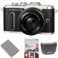 Olympus PEN E-PL8 Mirrorless Micro Four Thirds Digital Camera with 14-42mm Lens (Black) Warranty