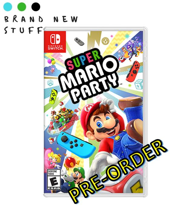 Switch: Super Mario Party [Available in Stock!]