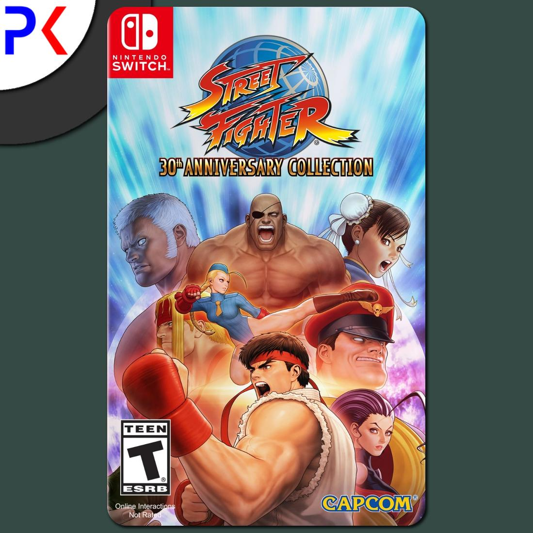 Nintendo Switch Street Fighter 30th Anniversary Collection (US)