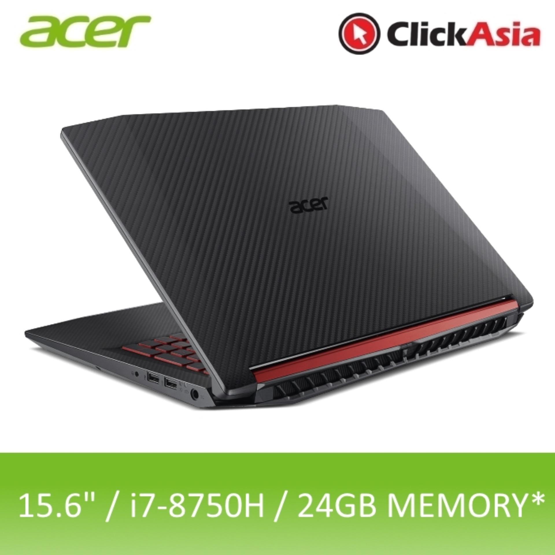 Acer Nitro 5 (AN515-52-70AP) – 15.6″ FHD/i7-8750H/8GB DDR4/16GB Optane + 1TB HDD/Nvidia GTX1050/W10 (Black)