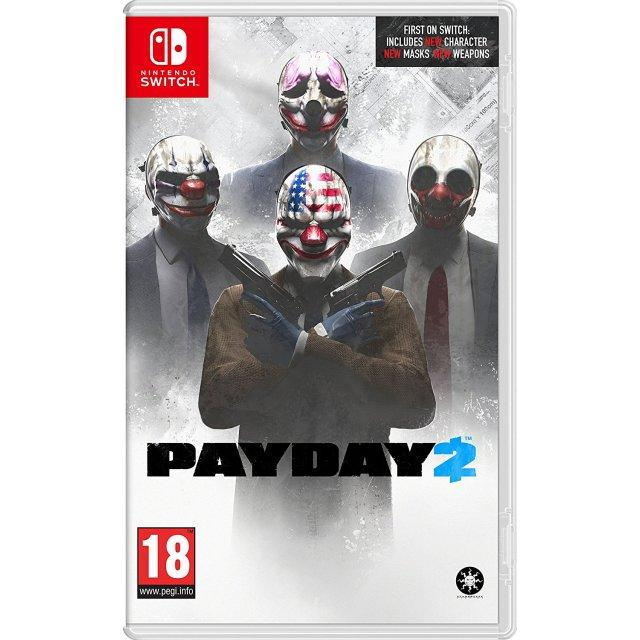 Nintendo Switch Payday 2-EUR(R2)
