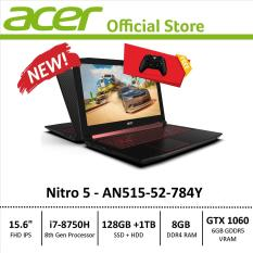 Acer Nitro 5 (AN515-52-784Y) Gaming Laptop – 8th Generation i7 Processor with GTX 1060 Graphics – Free Xbox Wireless Controller