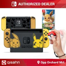 [PRE-ORDER] Nintendo Switch Console System Bundle /w Pokemon Let's Go