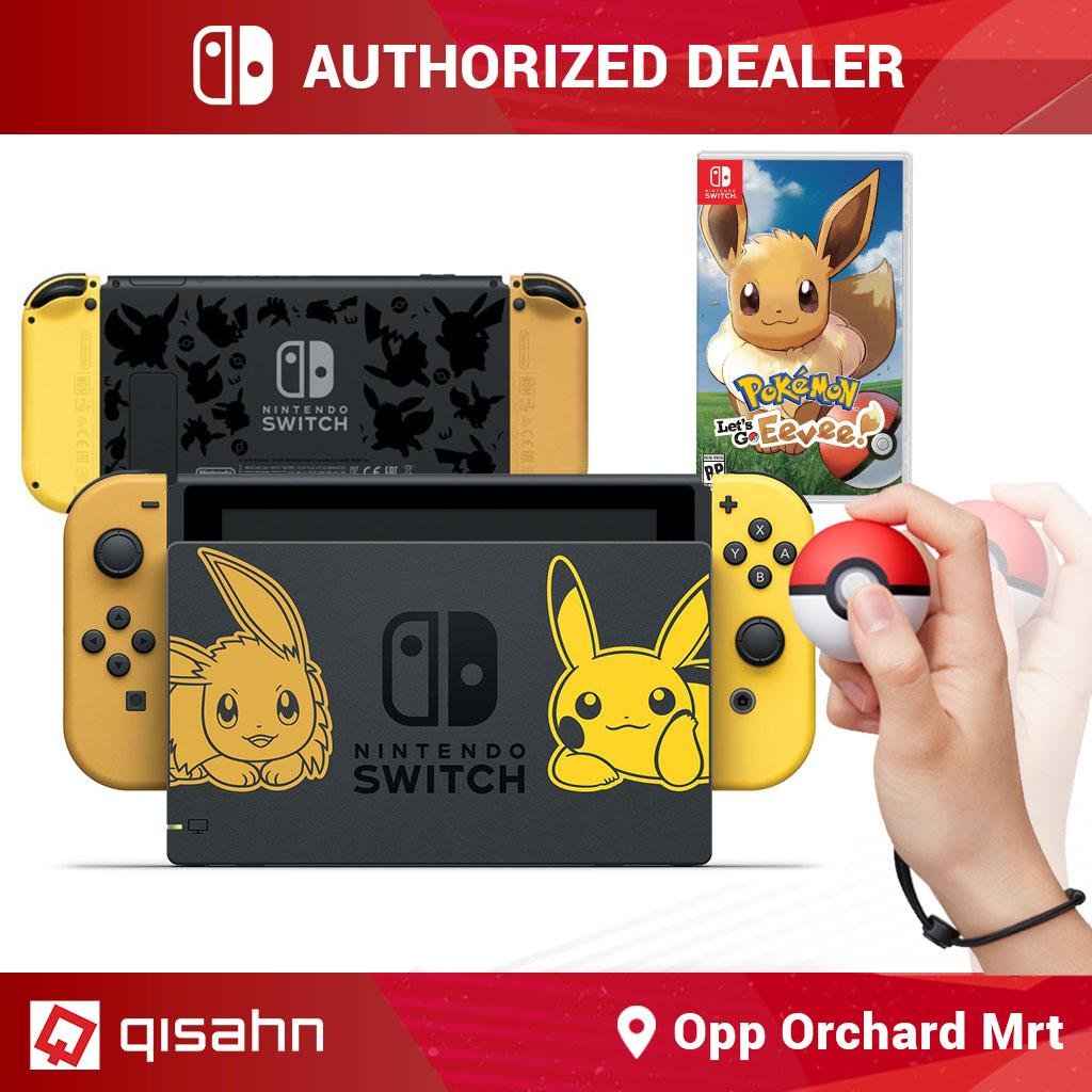[PRE-ORDER] Nintendo Switch Console System Bundle /w Pokemon Let's Go