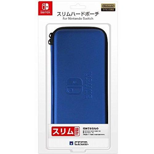 NSW-008 Hori Nintendo Switch For Slim Hard Pouch Blue-JP