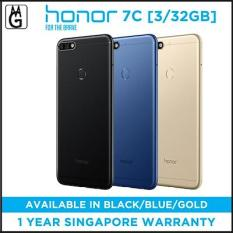 Honor 7C 3/32GB. Free Case and Screen Protector