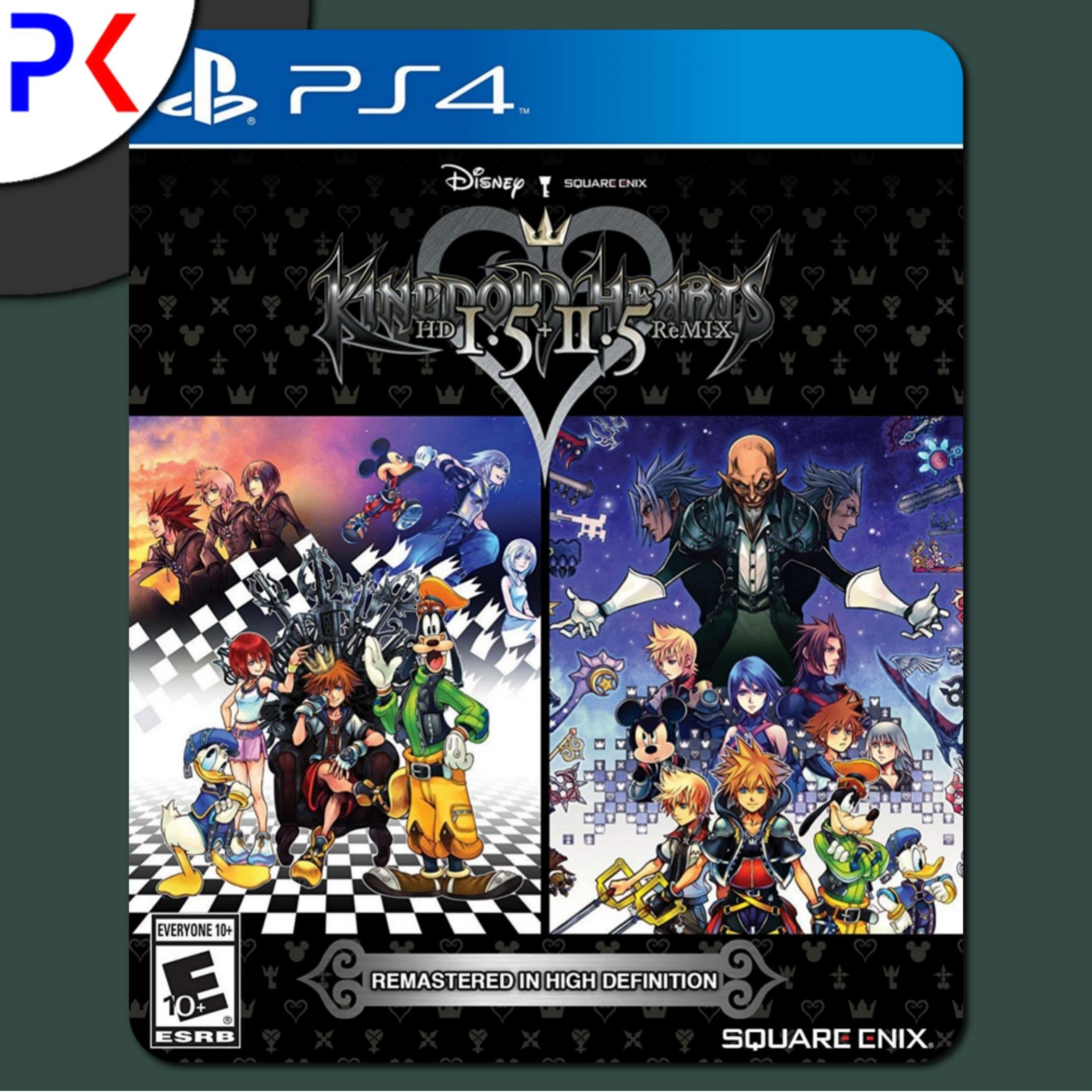 PS4 Kingdom Hearts HD I.5 + II.5 Remix (R1)