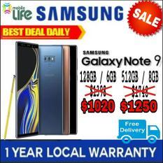 Samsung Galaxy Note 9 128 GB/512 GB omobilelife.com