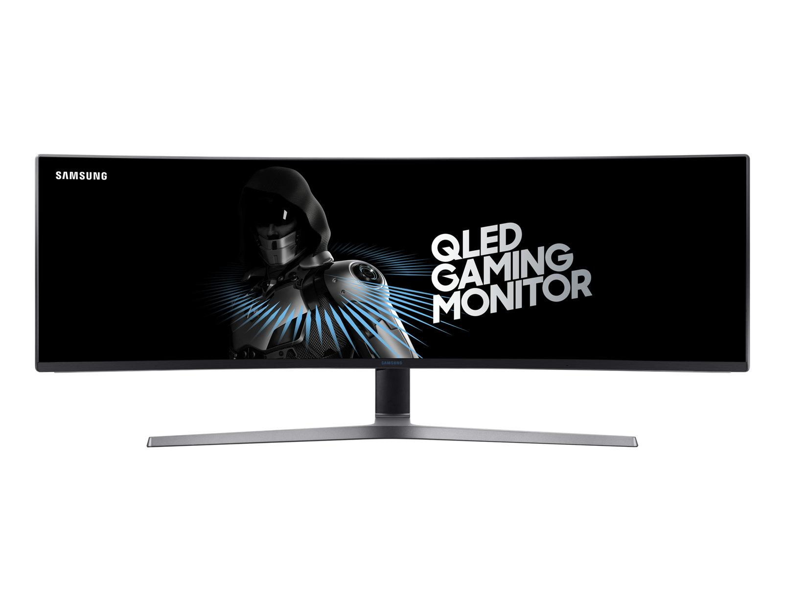 SAMSUNG 49-inch QLED Gaming Monitor with 32:9 Super Ultra-Wide Screen (LC49HG90DMEXXS) (BNIB)