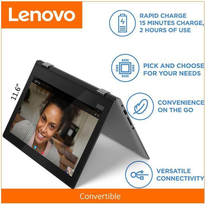 Lenovo YOGA 330-11IGM 11.6 HD (TOUCH) N5000 1 year warranty
