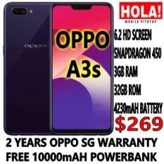 OPPO A3S 2 YEARS OPPO SG WARRANTY