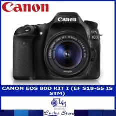 CANON EOS 80D KIT I (EF S18-55 IS STM)
