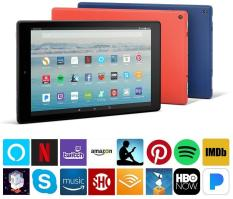 Fire HD 10 Tablet w/ Alexa, 10.1″ 1080p Full HD, 32 GB [Black]