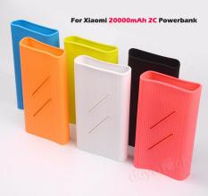 Silicone Case for Xiaomi 20000mAh 2C Powerbank ◆ Protective Sleeve Casing Mi Power Bank External Battery Case Cover Anti slip Soft Cases