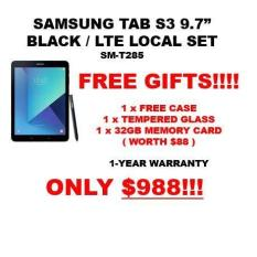 SAMSUNG TAB S3 9.7″ LTE ( LOCAL SET ) + FREE GIFTS WORTH $88