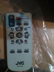 Jvc camcorder remote rm-v720u