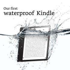 2017 (Refurbished) Kindle Oasis 8GB (Graphite), 7″ HD (300 ppi), Waterproof, Built-In Audible (Wi-Fi with Special Offers)