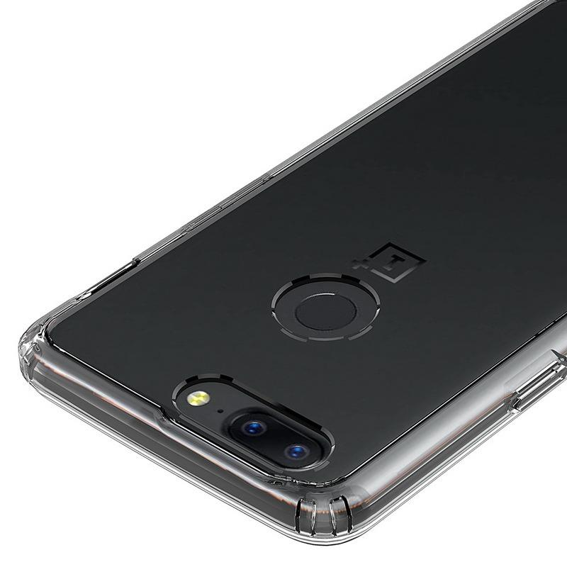OnePlus 5T Ultra Clear Tough Hybrid Case