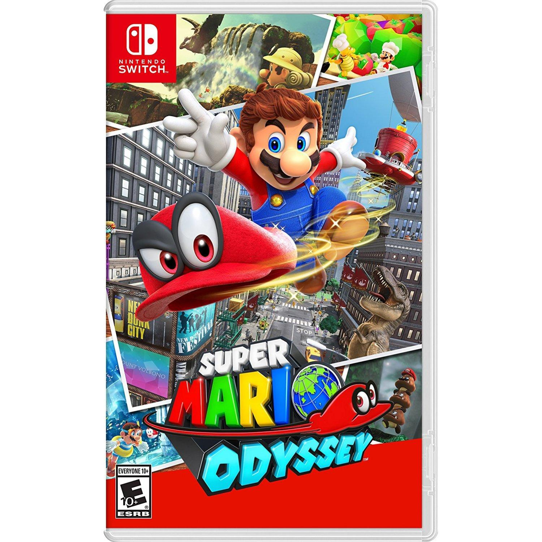 Nintendo Switch Super Mario Odyssey-US(R1)