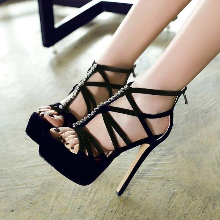 Man/Woman - Crystal summer scrub cross-strap women's women's women's shoes sandals  - High Quality and Affordable 2c6e90