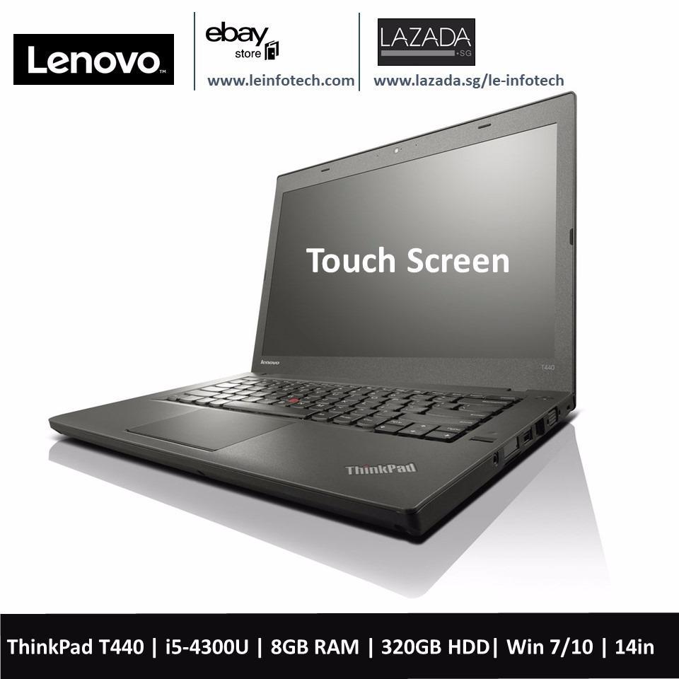 Lenovo ThinkPad T440 Laptop 14in Notebook Intel Core i5 4th Gen 4300U 1.9Ghz 8GB RAM 320GB HDD Win 10 Pro...