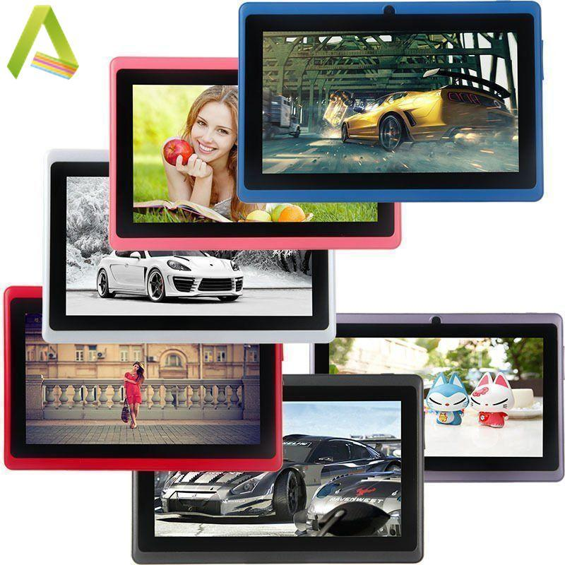 7'' A33 Quad Core Dual Camera Google Android 4.4 Tablet PC 16G WIFI UK 8 Color