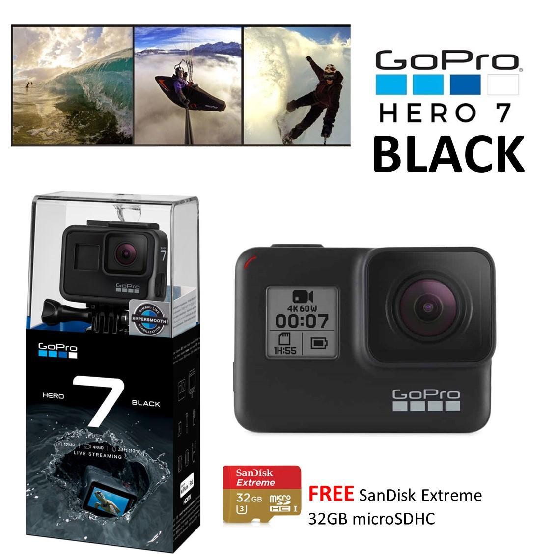 NEW! GoPro Hero 7 Black (International Warranty)