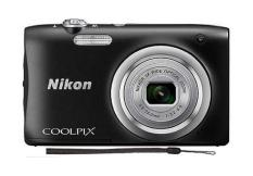 Nikon Coolpix A100 Black (Export) + Free Nikon Original Camera Case