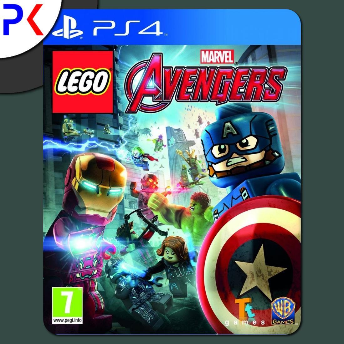 PS4 LEGO Marvels Avengers (R1)