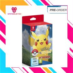 {Pre-Order) Nintendp Switch Pokemon Let's Go! Pikachu! Plus Poke Ball Plus (Earliest Sipping 16th Novenber)