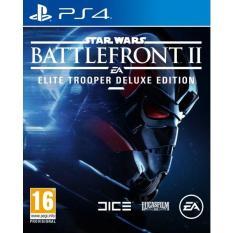 PS4 Star Wars Battlefront II : Elite Trooper Deluxe Edition-AS(R3)(PLAS 10077TDE)