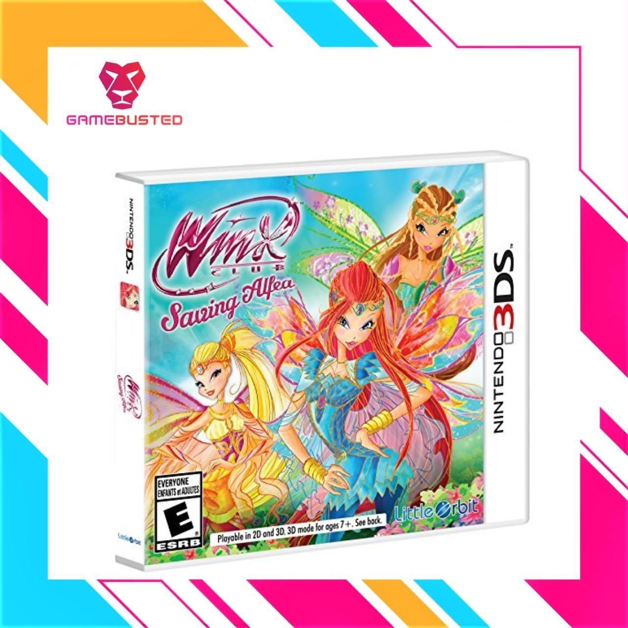3DS Winx Club: Saving Alfea