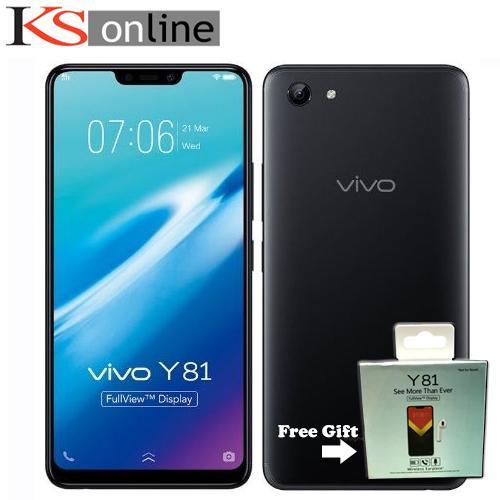 Vivo Y81 (Local) + Free Bluetooth Earpiece