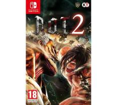 Nintendo Switch A.O.T.2 (Attack on Titan 2 )-EUR(R2)