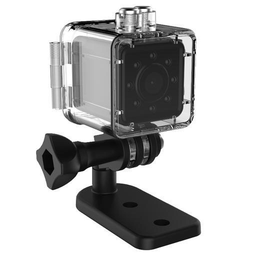 SQ13 Waterproof Mini Camera WiFi Full HD 1080P Wifi Camera Night Vision Silver