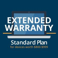 Star Shield Extended Warranty Standard Plan for devices worth $800-$999