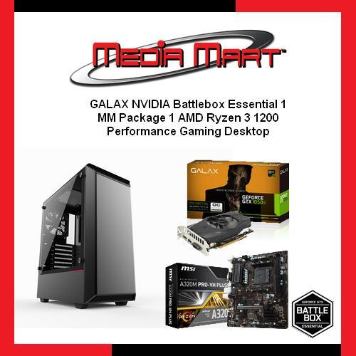 GALAX NVIDIA Battlebox Essential 1, Performance Gaming Desktop