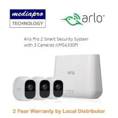 Netgear Arlo Pro 2 Smart Security System with 3 Cameras ( VMS4330P ) – Warranty by Local Distributor